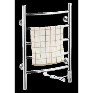 установка электрического полотенцесушителя цена