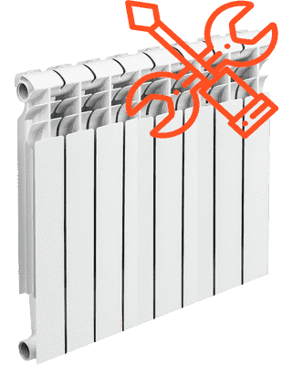 Замена радиатора отопления цена