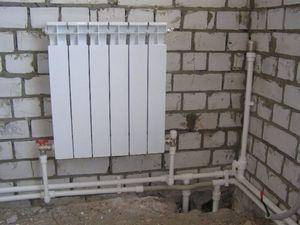 Разводка труб отопления (2)