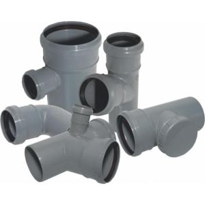 Установка канализационных труб