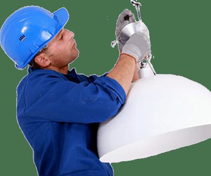 Замена и ремонт осветительных приборов