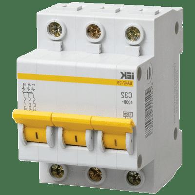 Замена и подключение автоматического выключателя цена