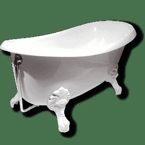 Установка чугунной ванны цена