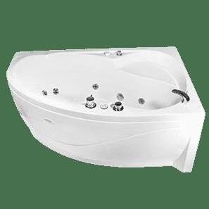 Установка угловой акриловой ванны цена
